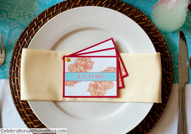 diy place card set #diy