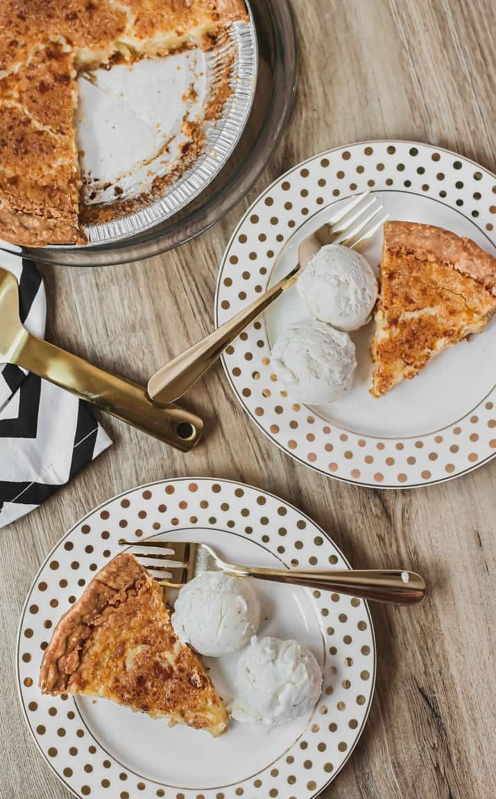 easy chess pie