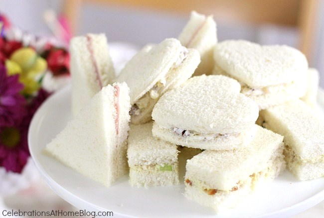 Tea Party Tea Sandwiches 3 Filling Recipes Celebrations At Home