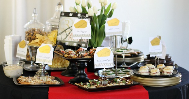 Entertaining : Oscar Themed Party Ideas
