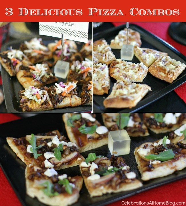 3 unique and delicious pizza combos #pizza