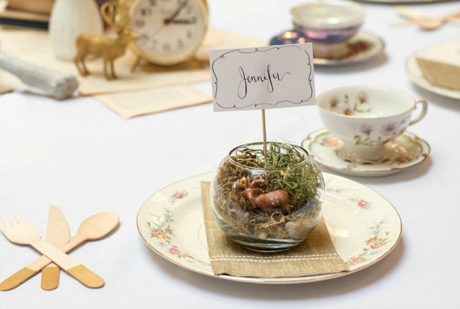 ... Story Book Themed Baby Shower Place Setting ...