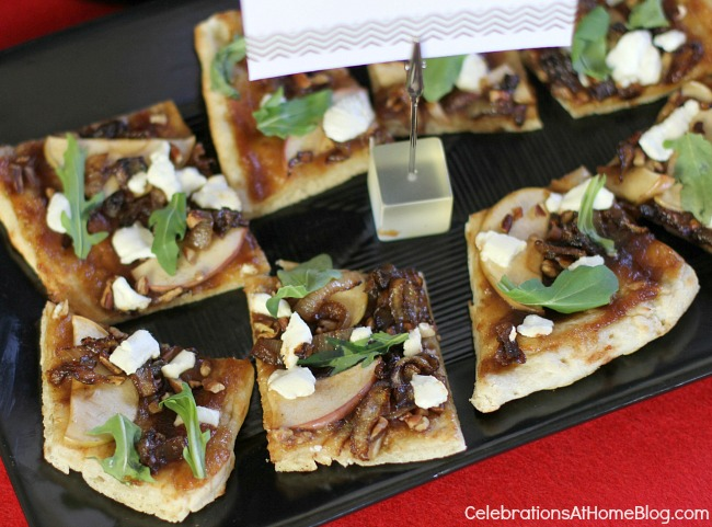 savory apple pizza #pizza