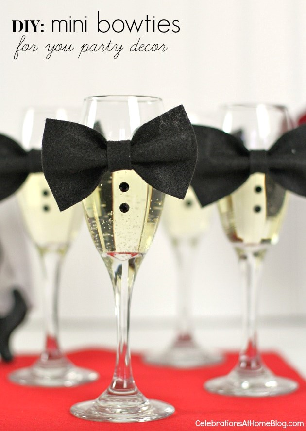 Diy Mini Bow Ties To Dress Up The Party Celebrations At Home