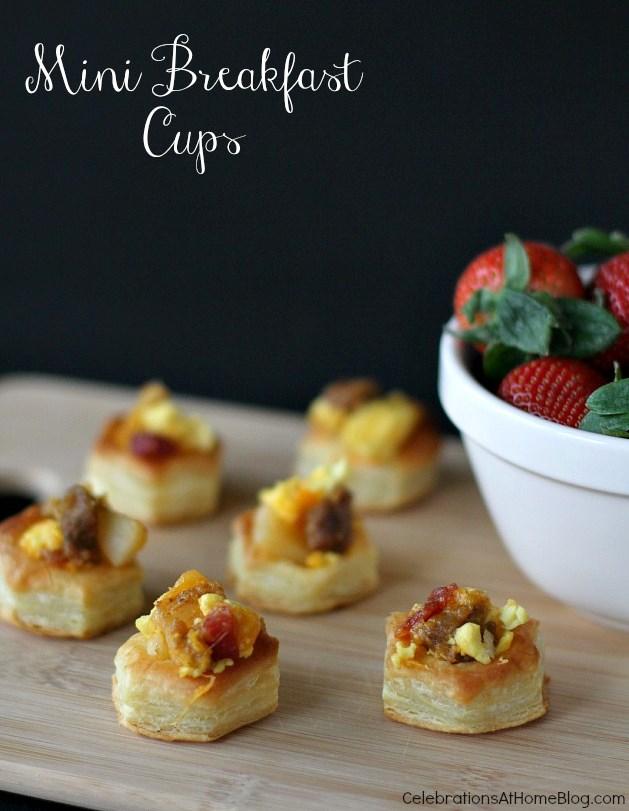 mini breakfast cups