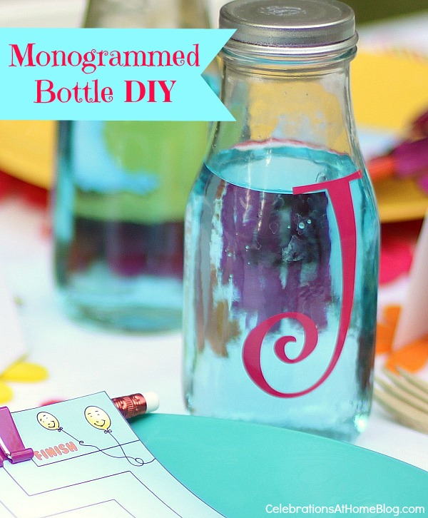 monogrammed-bottle-#diy