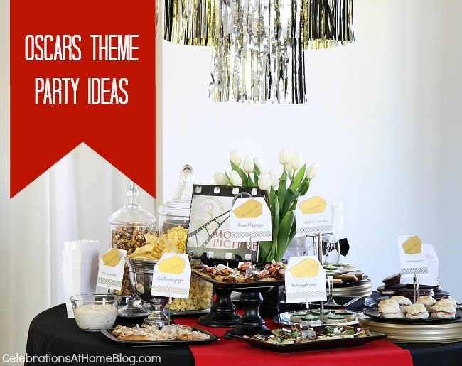 entertaining oscar themed party ideas celebrations at home