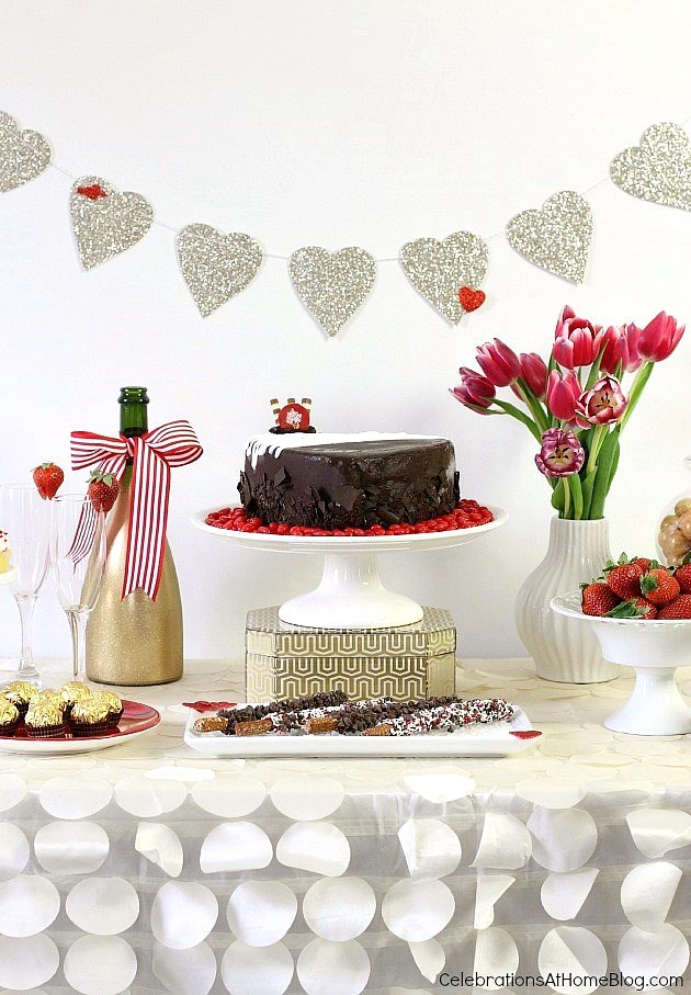 Create a dessert table for any occasion with my 5 step plan, here.