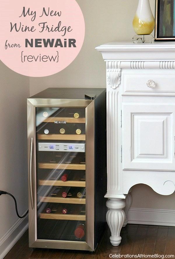 review newair wine fridge
