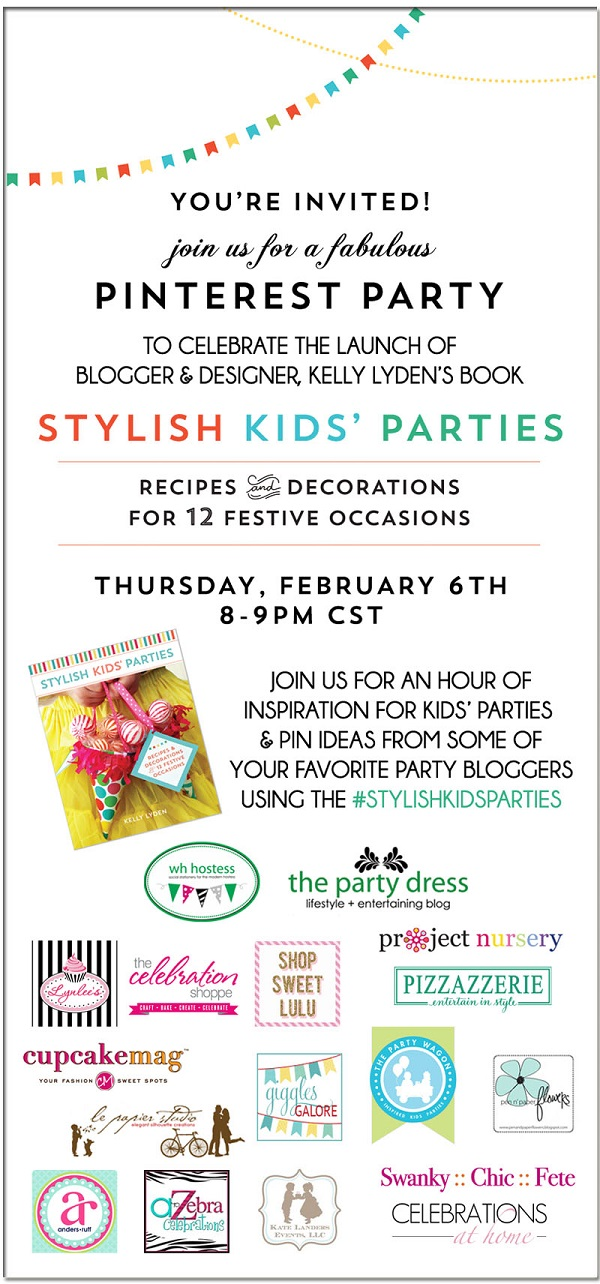 stylish kids parties pinterest party