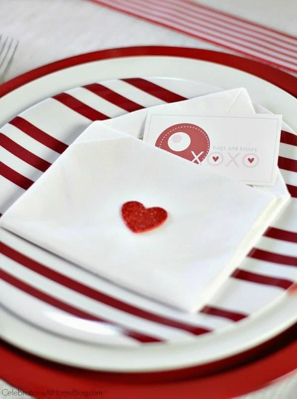 Diy Napkin Envelopes For Valentine S Day Celebrations At Home