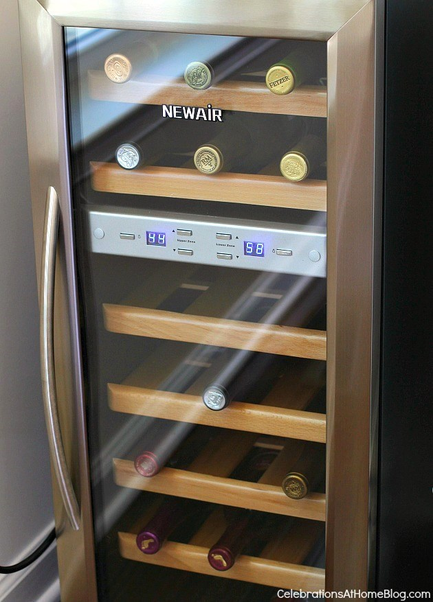My New Wine Fridge From Newair Review Celebrations At Home