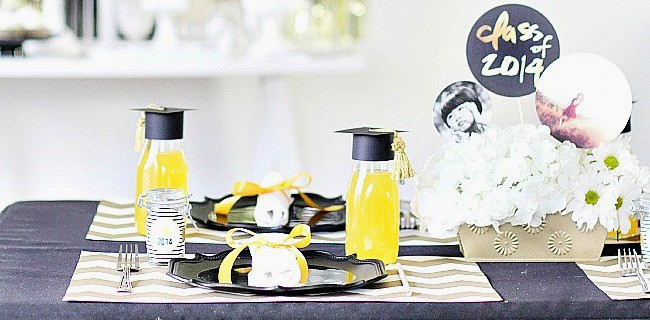 Graduation Party Ideas :: Modern-Classic Style