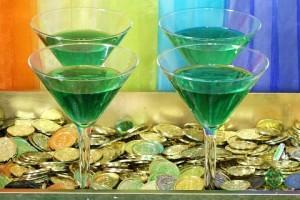 GREEN LEPRECHAUN cocktail
