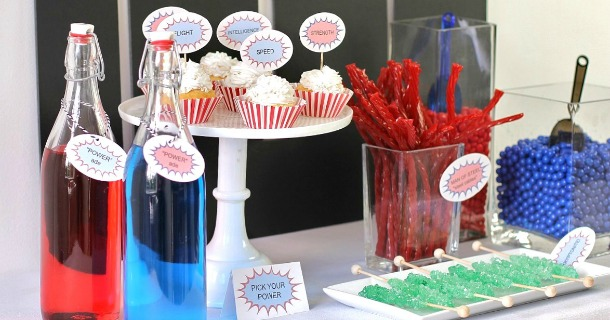 5 ideas for a superman party