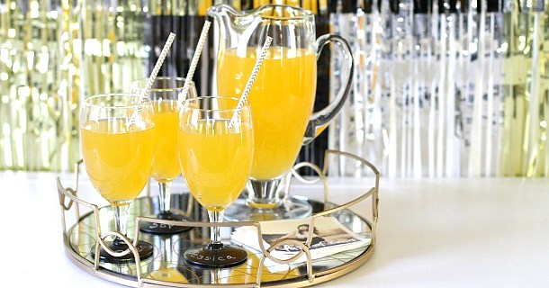 Golden Graduation Punch {family friendly recipe}