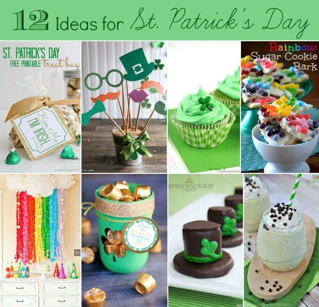 12 ideas for st. patricks day