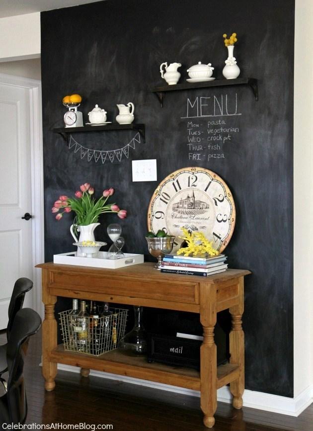 9 chalkboard wall
