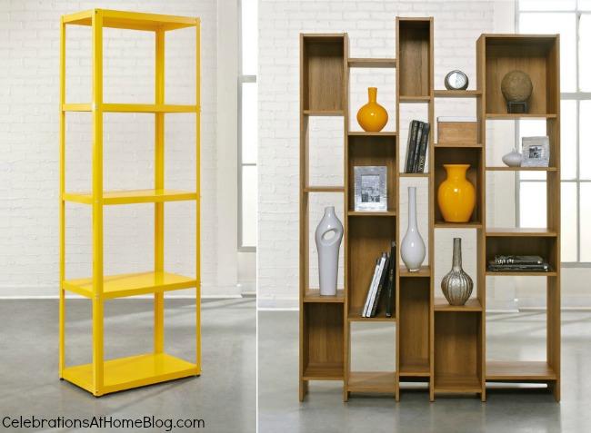Sauder shelves