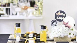 Graduation Party Ideas Modern-Classic Style