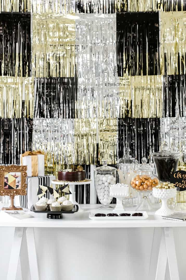 candy table ideas for graduation