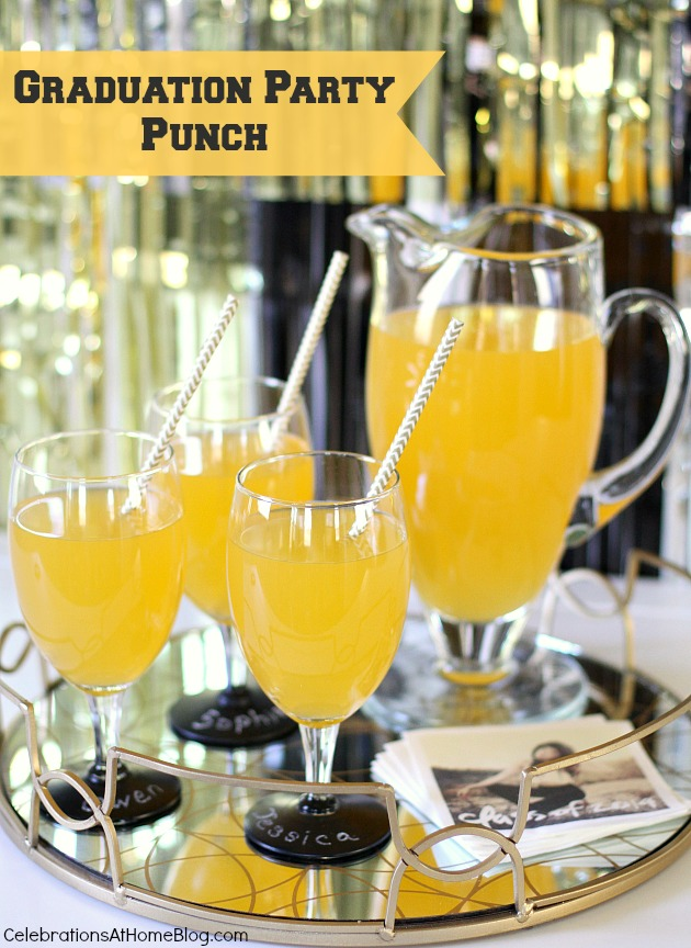 graduation party punch #recipe