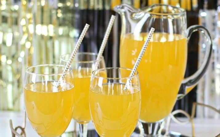 Golden Graduation Punch Family Friendly Recipe