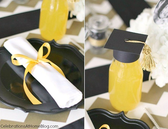Graduation Party Ideas Modern Classic Style