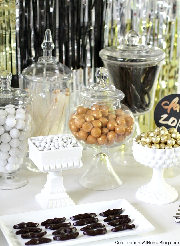 #graduation party candy bar