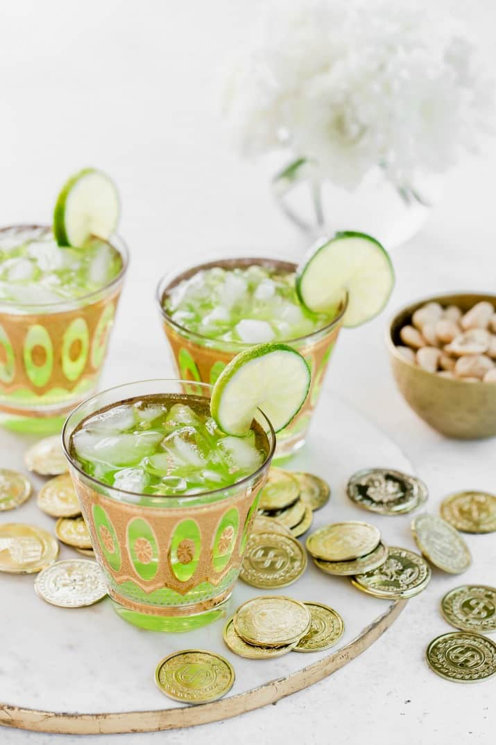 St Patrick's Green Leprechaun | Green St Patrick's Day Drink Recipes You Must Try