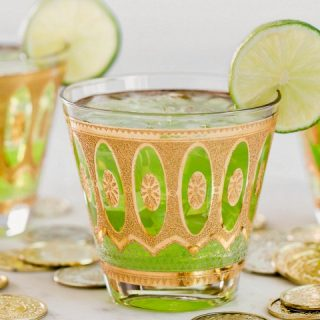 St. Patrick's day green cocktail recipe