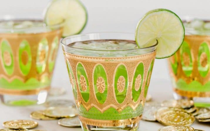 Green St. Patrick's Day Cocktail Recipe for Parties