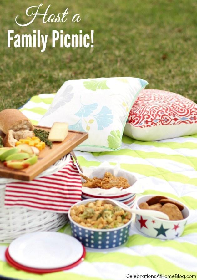 host a family picnic #picnic