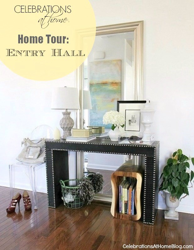 house tour_entry hall table