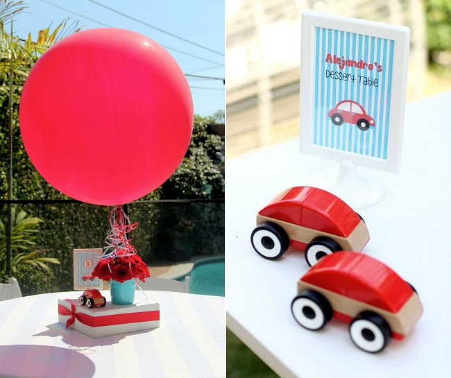 Little Red Car 1st Birthday Party Guest Feature