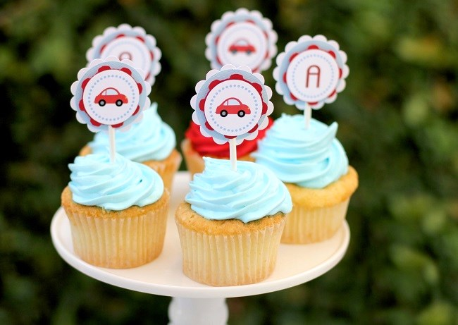 little red car birthday party-Lidia Limardo Photography