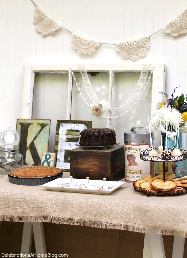 Vintage-Style Bridal Shower Ideas - Celebrations at Home