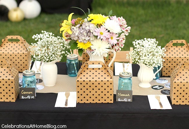Graduation Party Ideas with Boxed Lunch - Celebrations at Home