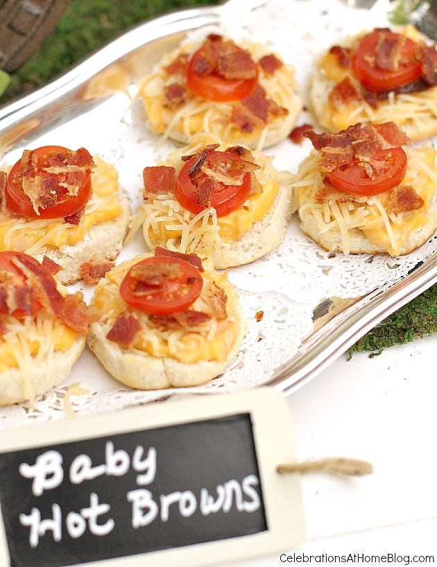 Kentucky Derby party ideas - mini hot browns recipe