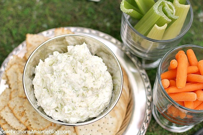 Kentucky Derby party ideas - classic benedictine dip or spread recipe