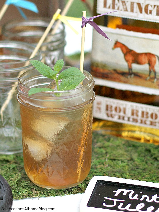 These are my top tips & recipes to host the best derby viewing party, guaranteed! Decor, inspiration, classic food & drink, all right here! mint julep recipe