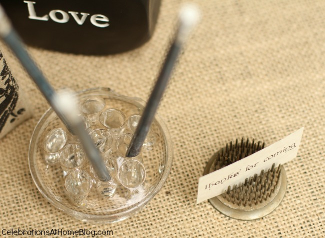 vintage style bridal shower ideas