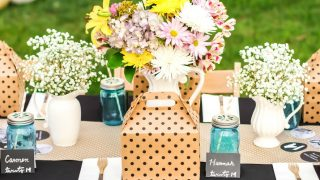 Graduation Party Ideas with Boxed Lunch