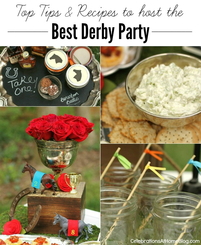 Best tips and recipes for a Kentucky derby party