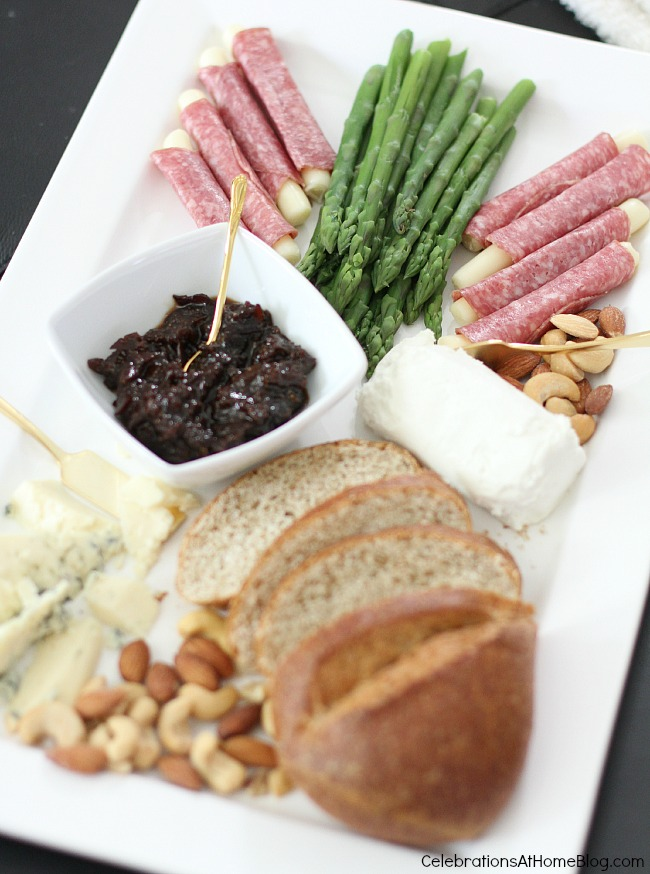 Have a date night in with happy hour and a gelato tasting! Serve cheese and charcuterie for starters; then move on to dessert.