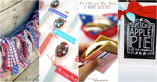 Ideas, FREE Printables & Recipes for 4th of July Celebrations