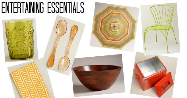 10 Summer Entertaining Essentials