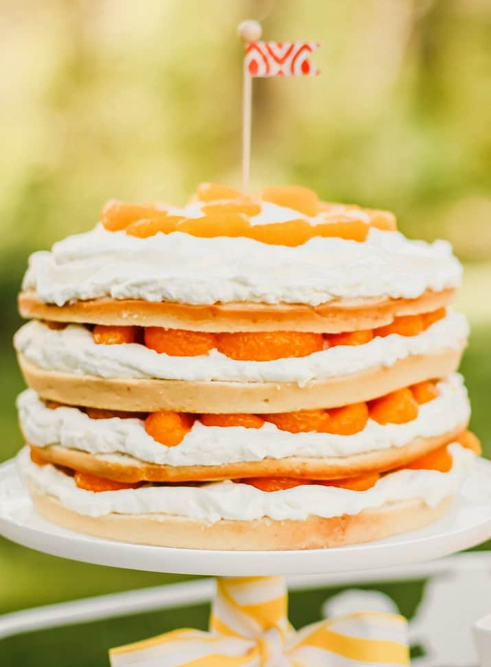 4-layer orange cake recipe