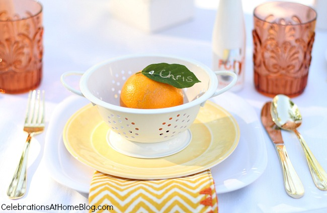 summer entertaining #tablescape #summer #entertaining