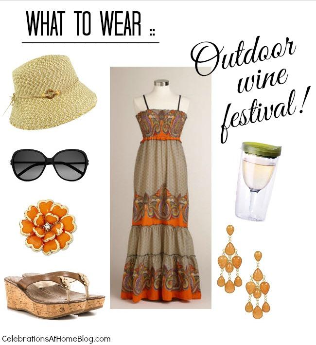 wine festival fashion